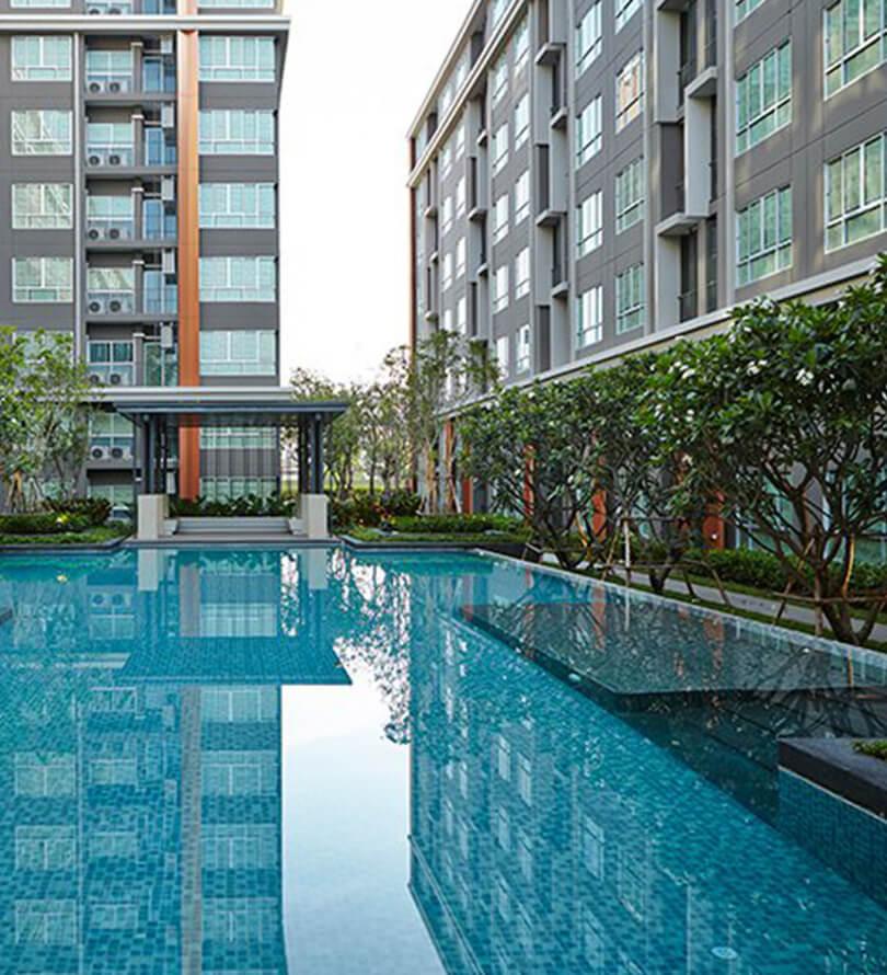 โครงการคอนโดมิเนียม ดีคอนโด ฮาย เชียงราย (dcondo Hyde Chiang Rai)