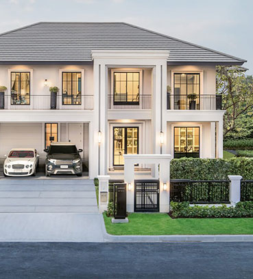 แบบบ้านสวย แบบบ้านสไตล์โมเดิร์น AMETHYST แบบบ้านครอบครัวใหญ่ แบบบ้านเพื่อผู้สูงอายุ