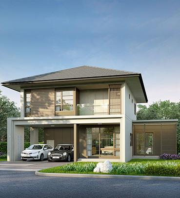 แบบบ้านสวย แบบบ้านสไตล์รีสอร์ท CHERISH (N) แบบบ้านครอบครัวใหญ่ แบบบ้านเพื่อผู้สูงอายุ