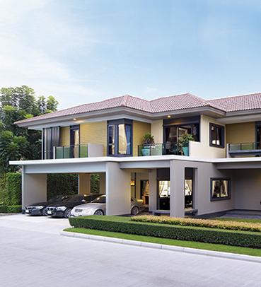 แบบบ้านสวย แบบบ้านสไตล์โมเดิร์น The Chairman แบบบ้านครอบครัวใหญ่ แบบบ้านเพื่อผู้สูงอายุ