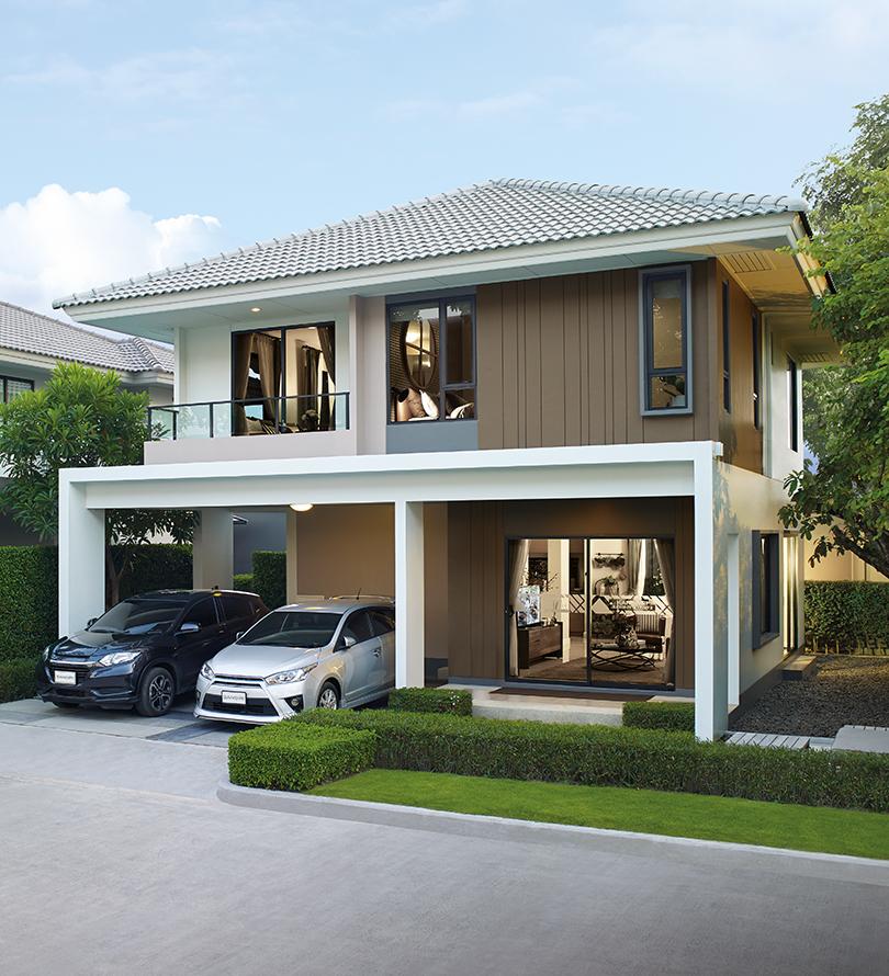 โครงการบ้านเดี่ยว บ้านจัดสรร คณาสิริ รังสิต - คลอง 2 (Kanasiri Rangsit - Klong 2)