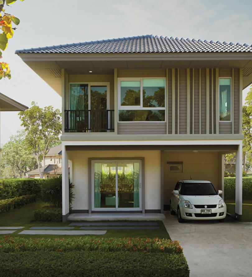 โครงการบ้านเดี่ยว บ้านจัดสรร คณาสิริ วงแหวน - พระราม 5 (Kanasiri Wongwaen - Rama 5)