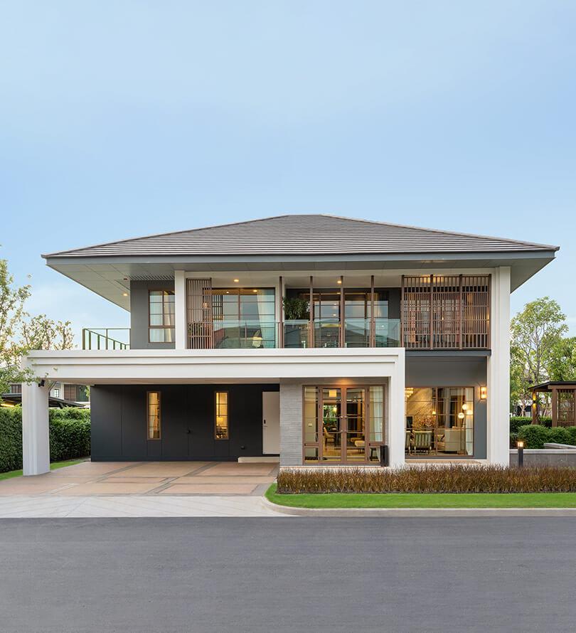 โครงการบ้านเดี่ยว บ้านจัดสรร เศรษฐสิริ พหล - วัชรพล (Setthasiri Phahol - Watcharapol)