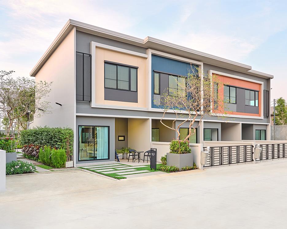 โครงการบ้านทาวน์โฮม Townhome ทาวน์เฮ้าส์ สิริ เพลส ราชพฤกษ์ - 346 (Siri Place Ratchaphruek - 346)