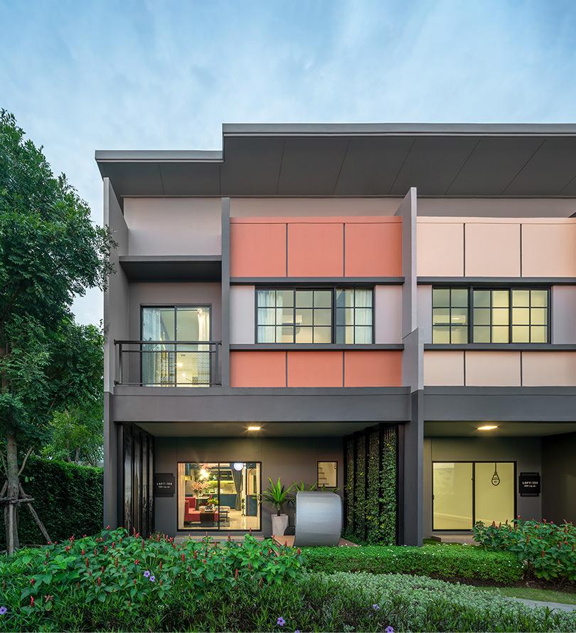 โครงการบ้านทาวน์โฮม Townhome ทาวน์เฮ้าส์ สิริ เพลส เวสต์เกต (Siri Place Westgate)