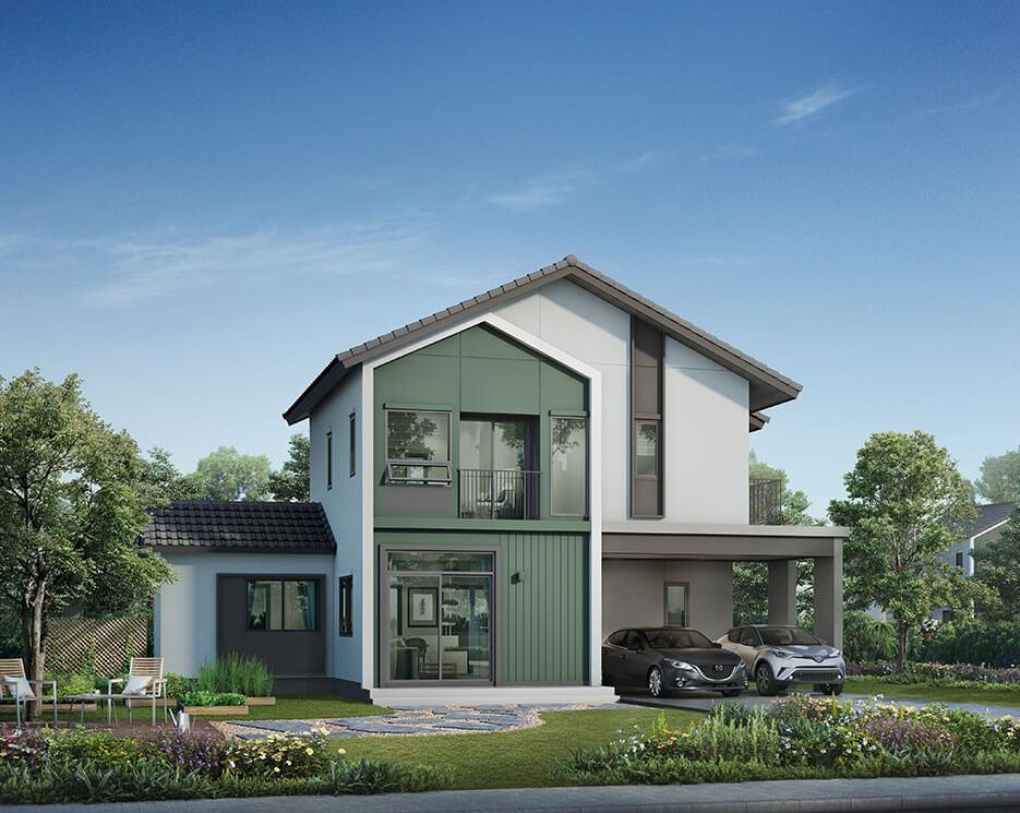 โครงการบ้านเดี่ยว บ้านจัดสรร อณาสิริ ชัยพฤกษ์ - วงแหวน (Anasiri Chaiyaphruek - Wongwaen)