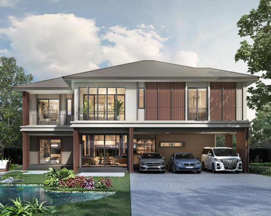 โครงการบ้านเดี่ยว บ้านจัดสรร บุราสิริ พระราม 2 (Burasiri Rama 2)