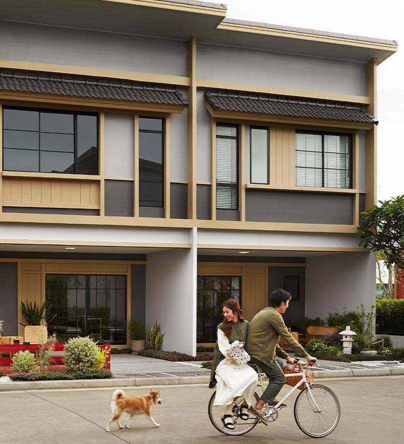 โครงการบ้านทาวน์โฮม Townhome ทาวน์เฮ้าส์ สิริ เพลส วงแหวน - ลำลูกกา (Siri Place Wongwaen - Lumlukka)