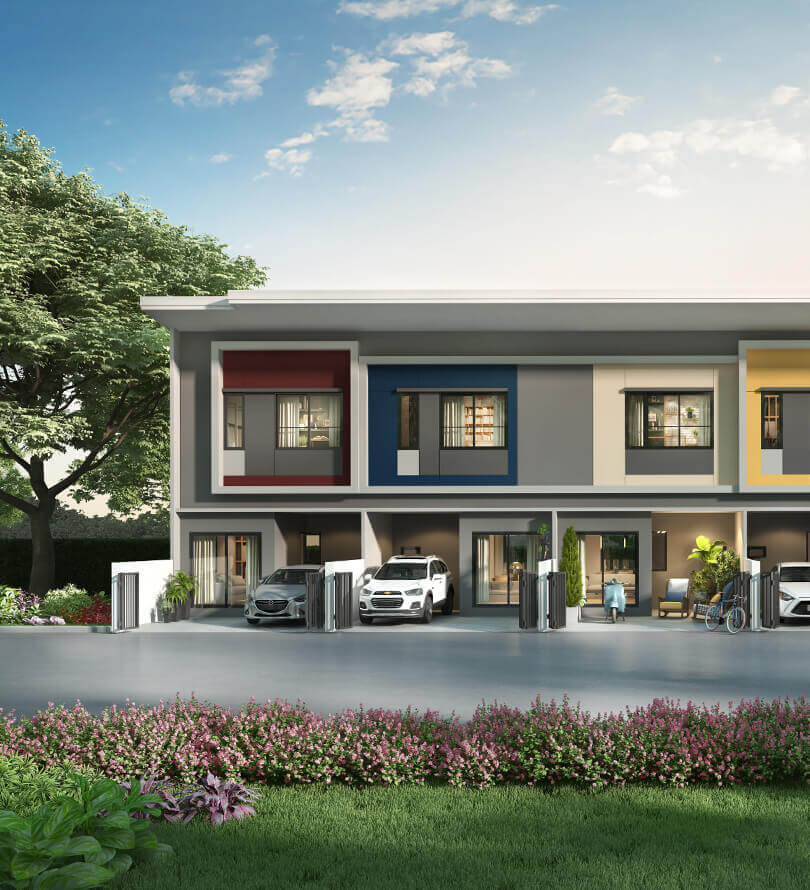 โครงการบ้านทาวน์โฮม Townhome ทาวน์เฮ้าส์ สิริ เพลส พหลโยธิน 52 (Siri Place Phahonyothin 52)