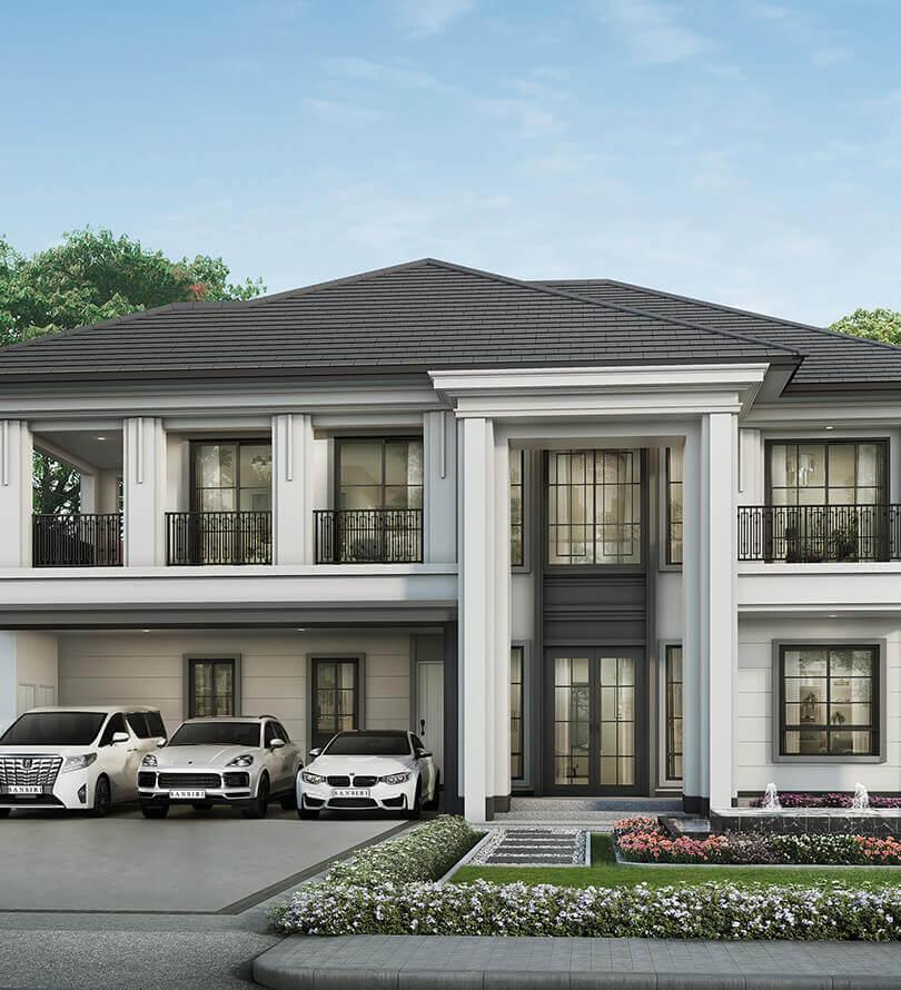 โครงการบ้านเดี่ยว บ้านจัดสรร เศรษฐสิริ พระราม 5 (Setthasiri Rama 5)
