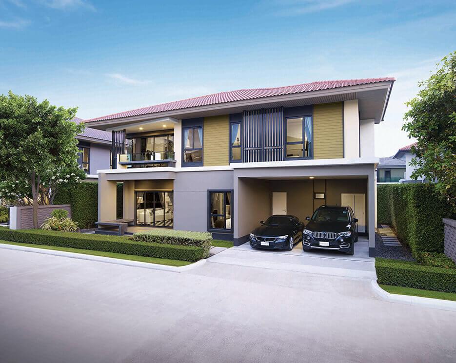 โครงการบ้านเดี่ยว บ้านจัดสรร เศรษฐสิริ วงแหวน - ลำลูกกา (Setthasiri Wongwaen - Lamlukka)