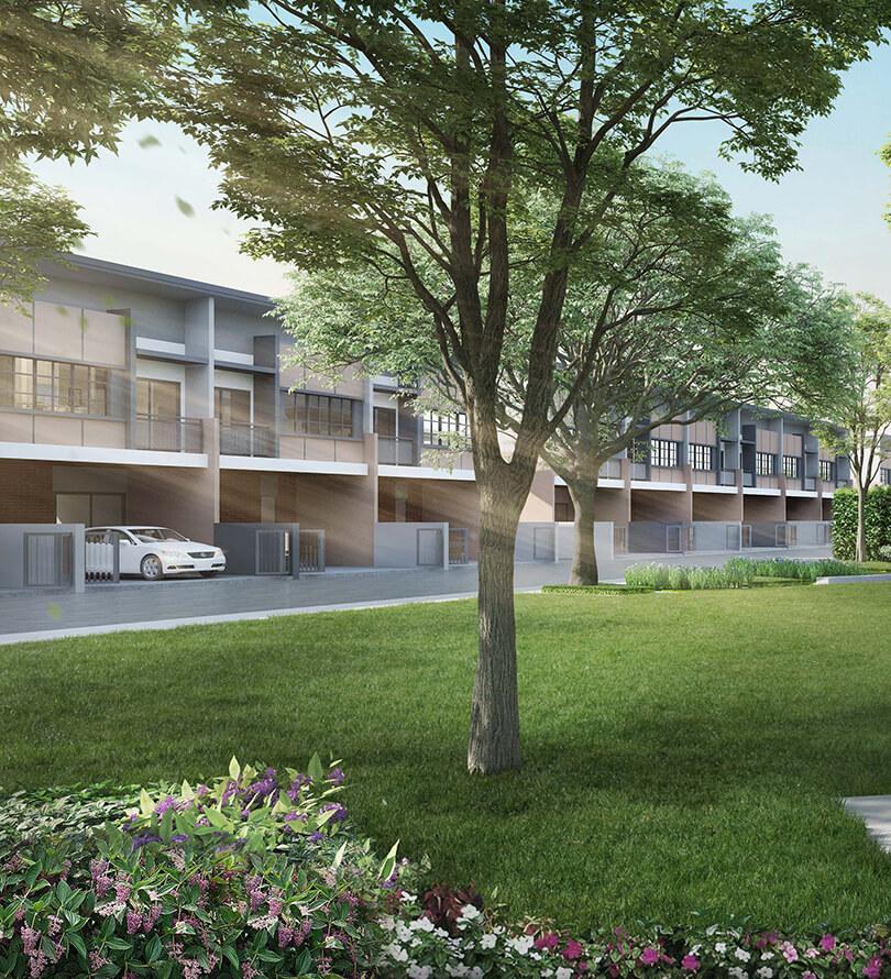 โครงการบ้านทาวน์โฮม Townhome ทาวน์เฮ้าส์ สิริ เพลส สุขสวัสดิ์ - พระราม3 (Siri Place Suksawat - Rama 3)