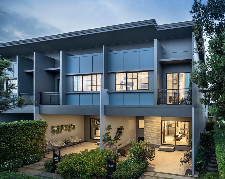 โครงการบ้านทาวน์โฮม Townhome ทาวน์เฮ้าส์ สิริ เพลส รังสิต (Siri Place Rangsit)