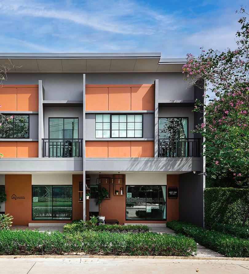 โครงการบ้านทาวน์โฮม Townhome ทาวน์เฮ้าส์ สิริ เพลส ราชพฤกษ์ - 345 (Siri Place Ratchapruek - 345)