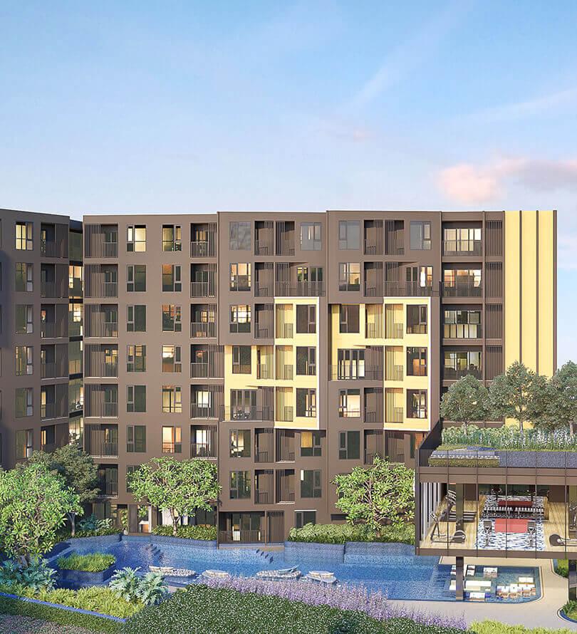 โครงการคอนโดมิเนียม เดอะ เบส เซ็นทรัล - ภูเก็ต (THE BASE Central - Phuket)