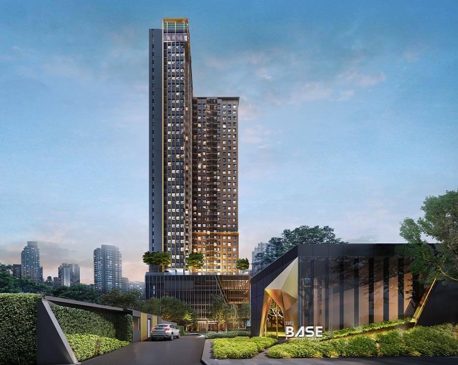 โครงการคอนโดมิเนียม เดอะ เบส เพชรบุรี - ทองหล่อ (THE BASE Phetchaburi - Thonglor)