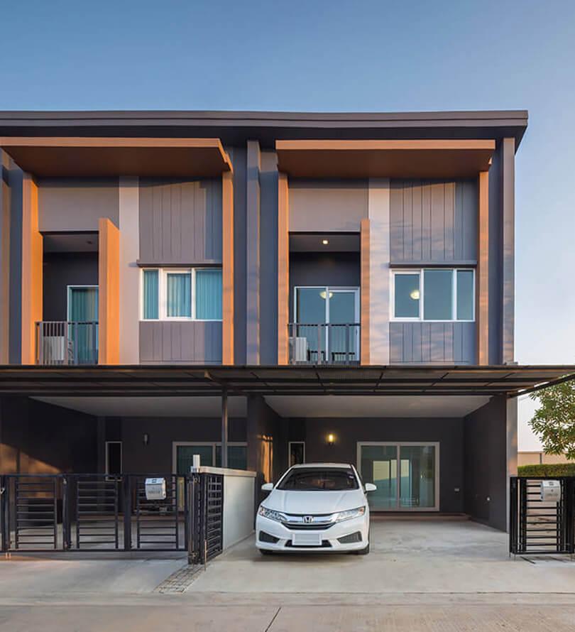 โครงการบ้านทาวน์โฮม Townhome ทาวน์เฮ้าส์ ทาวน์ อเวนิว สองแคว - พิษณุโลก (Town Avenue Song - Kwae)