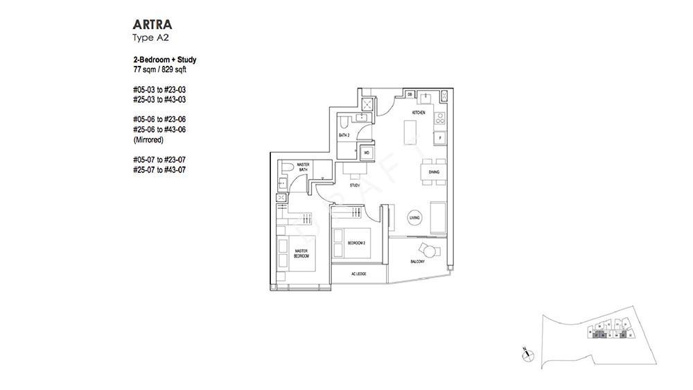 Artra 2 Bedroom