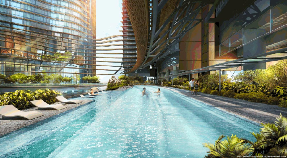Marine One Residences - Pool