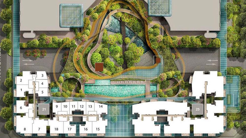Marine One Residences - Siteplan
