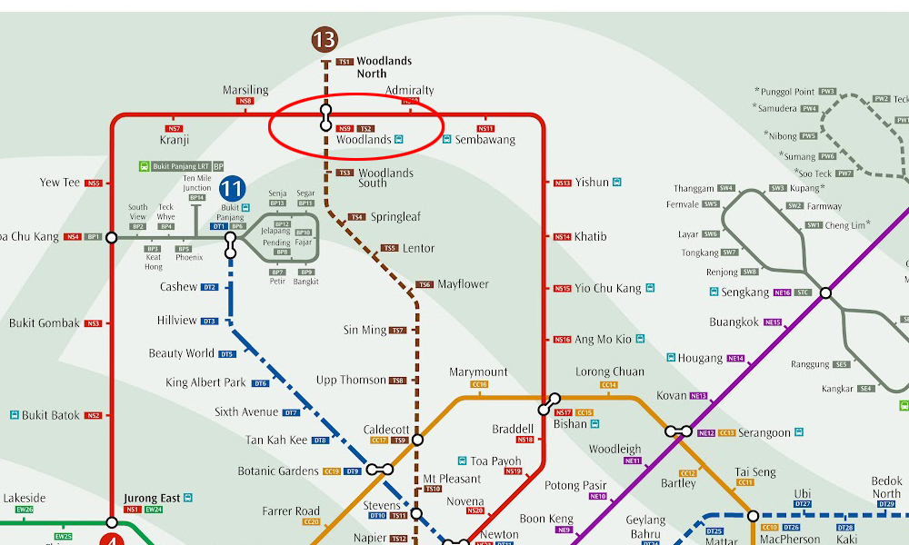 Woodlands MRT