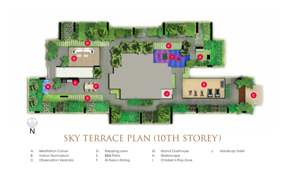 Goodwood Grand Siteplan
