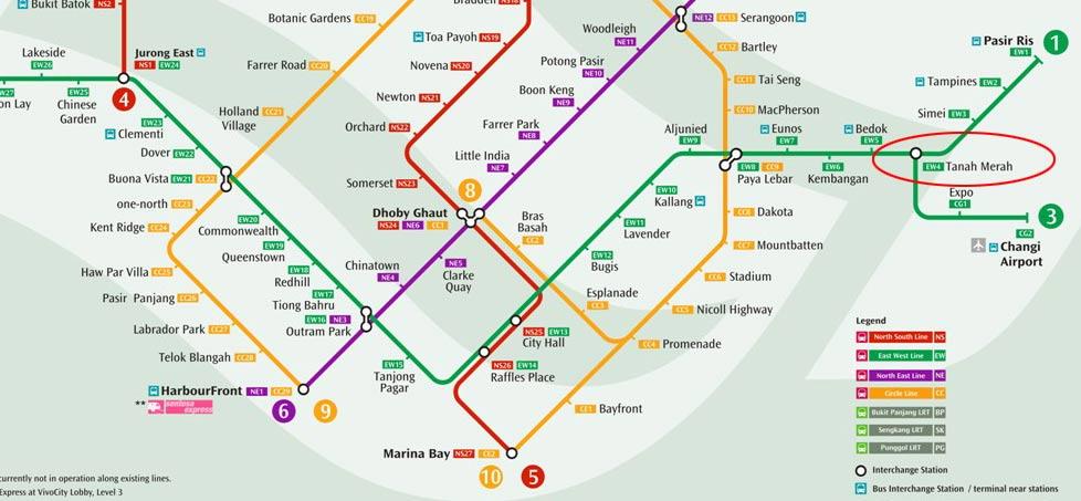 Grandeur Park Tanah Merah MRT