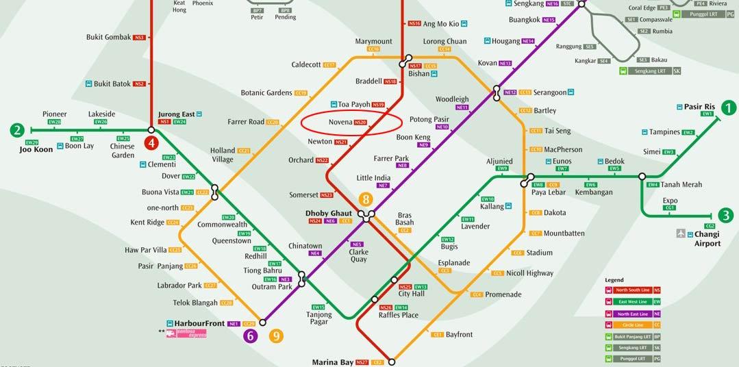 Novena MRT