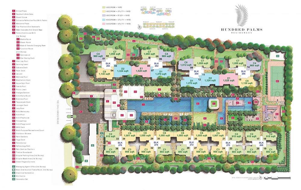 Hundred Palms Residences EC - Site Plan