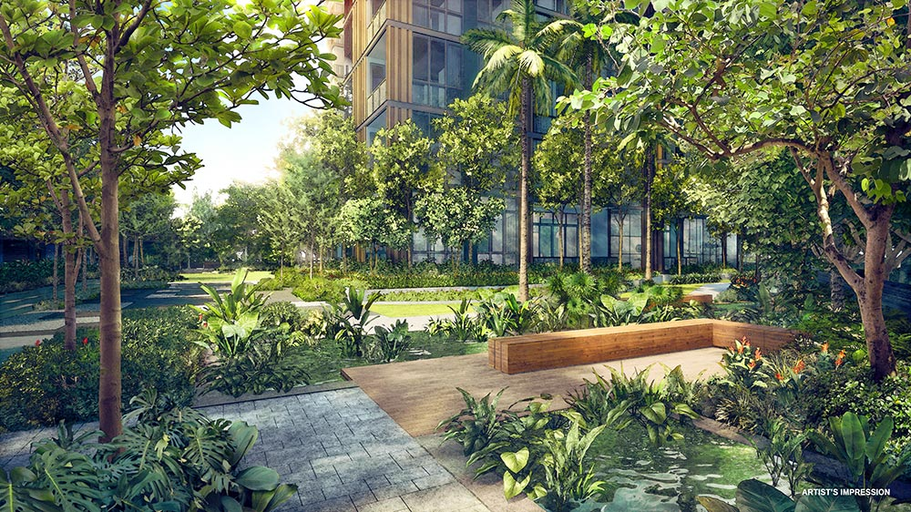 Martin Modern - Aquatic Garden