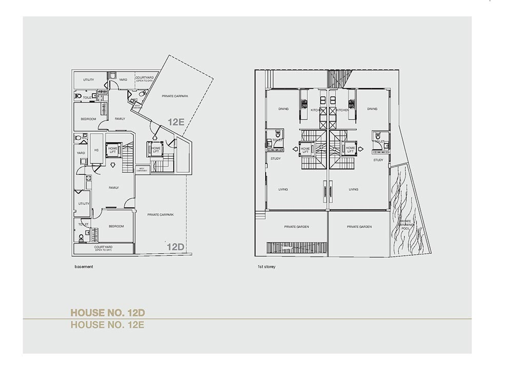Chancery Hill Villas - Floorplan