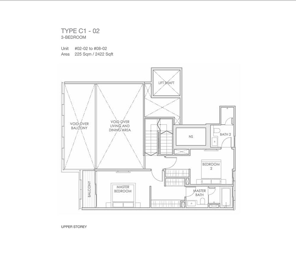 Lloyd Sixty Five 65 - Floorplan