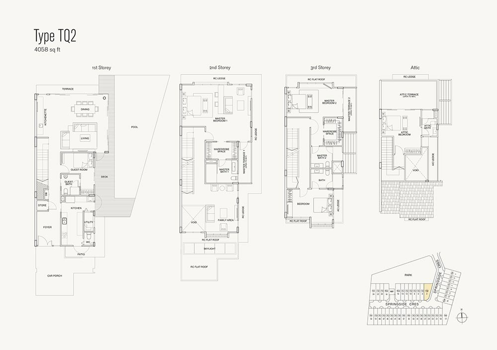 Brooks Signature Floorplan