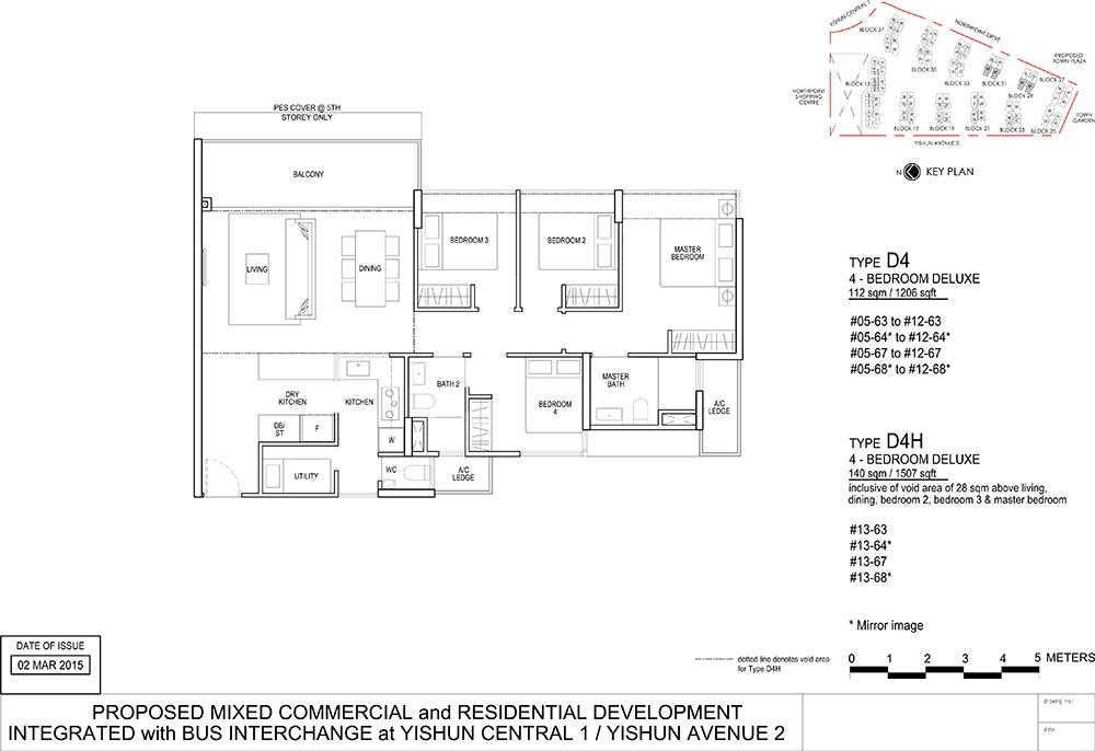 North Park Residences Floorplan