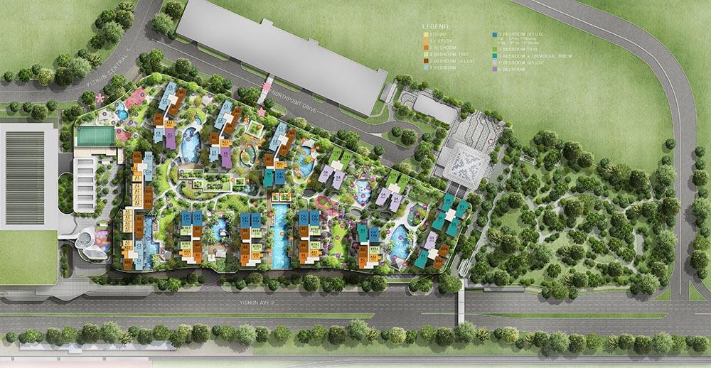 North Park Residences Siteplan