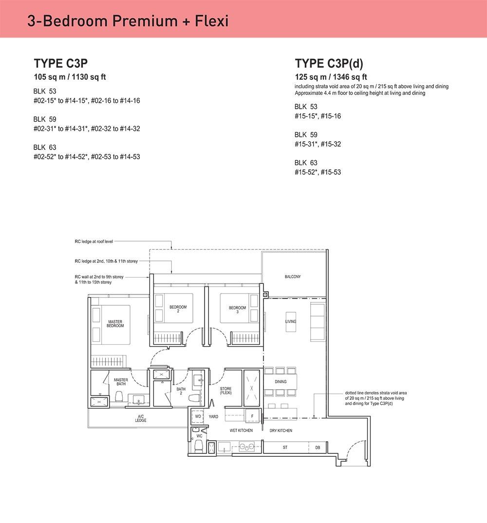 The Tapestry Condo Floorplan