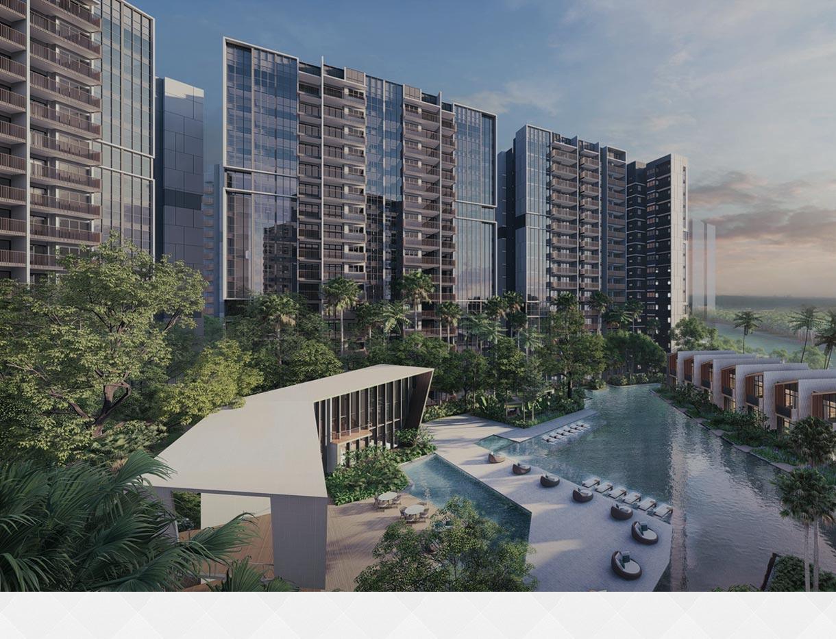 Riverfront Residences Floor plan