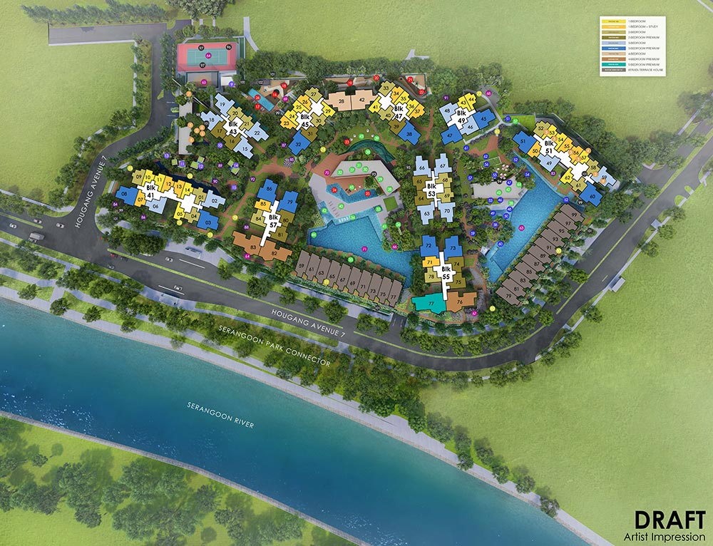 Riverfront-Residences-Sitemap