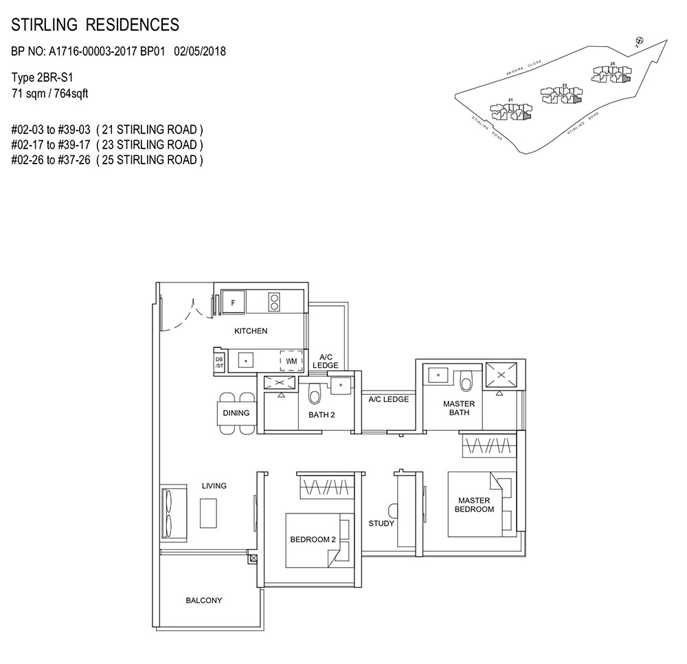 Stirling-Residences-2BR