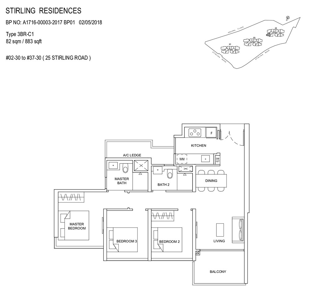 Stirling-Residences-3BR