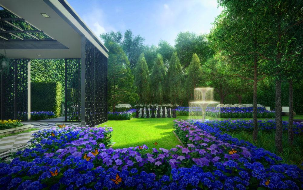 Park Colonial Garden