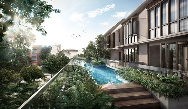 Ohmyhome New Launch Condo Parksuites Holland Grove Location Pool View