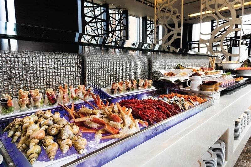 Cafe Circles - L'hotel Nina et Convention Centre 香港如心海景酒店暨會議中心- OKiBook Hong Kong Restaurant Buffet booking 自助餐預訂香港 1