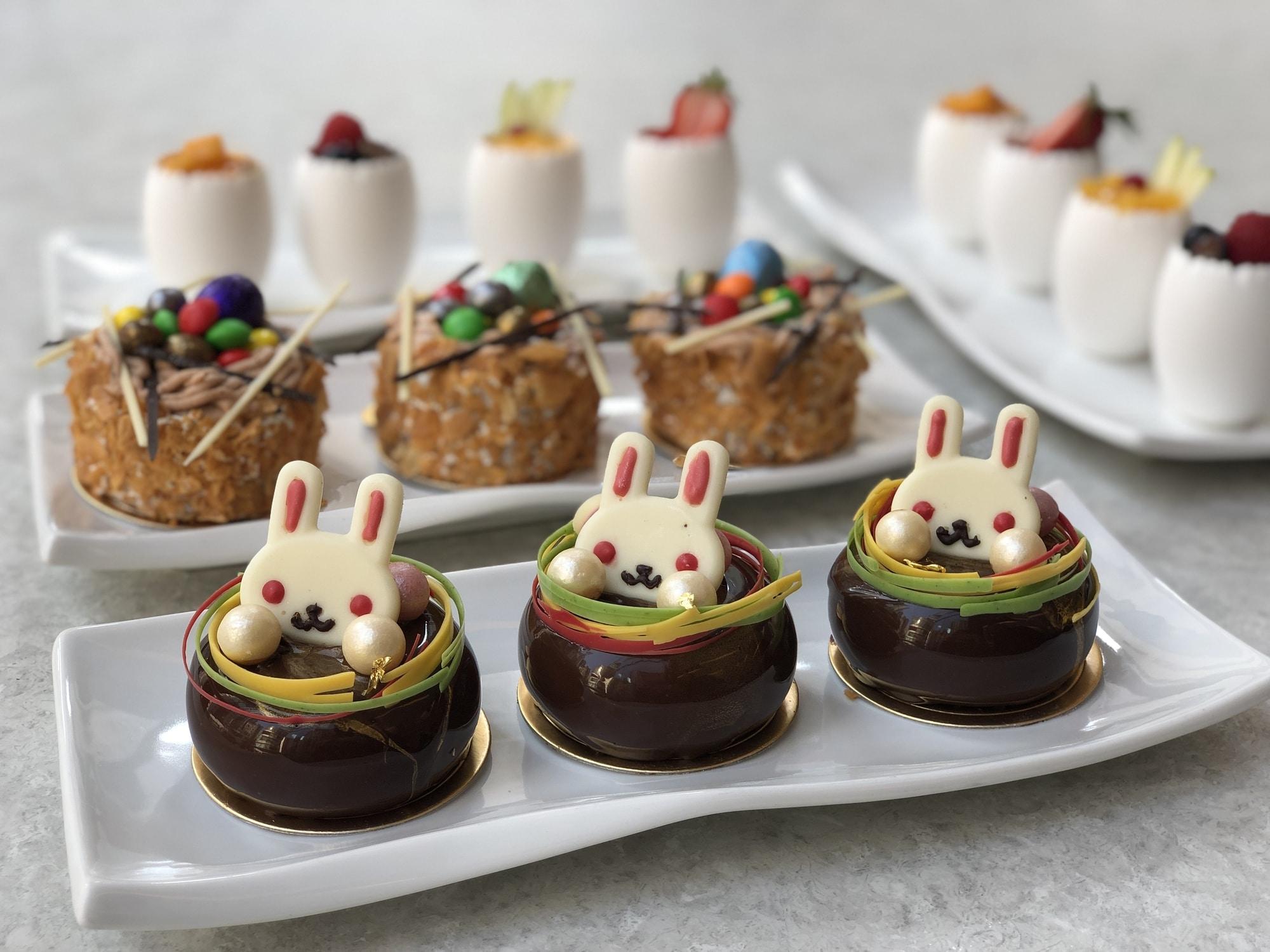 Garden Café - City Garden Hotel 綠茵閣 - 城市花園酒店 - OKiBook Hong Kong and Macau Restaurant Buffet booking 餐廳和自助餐預訂香港和澳門 Easter Desserts