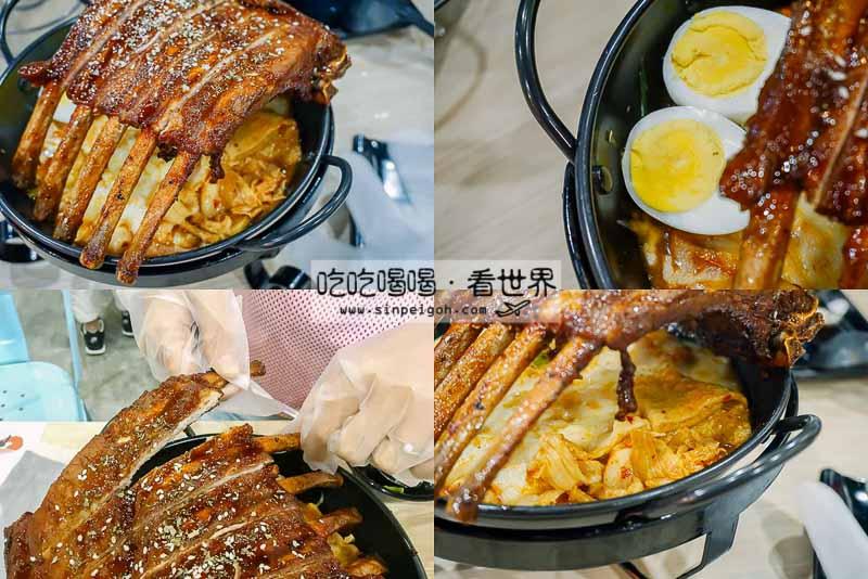 Omaya Pork Rib Cheesy Toppokki Stew