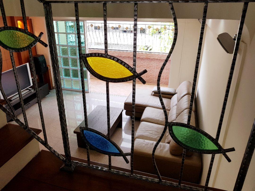Hdb interior design in singapore 4 room flat at jurong east hwa li - Contact Chee