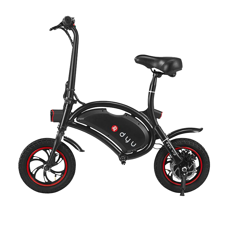 DYU D1 UL2272 Certified Electric Scooter with Front Child Seat
