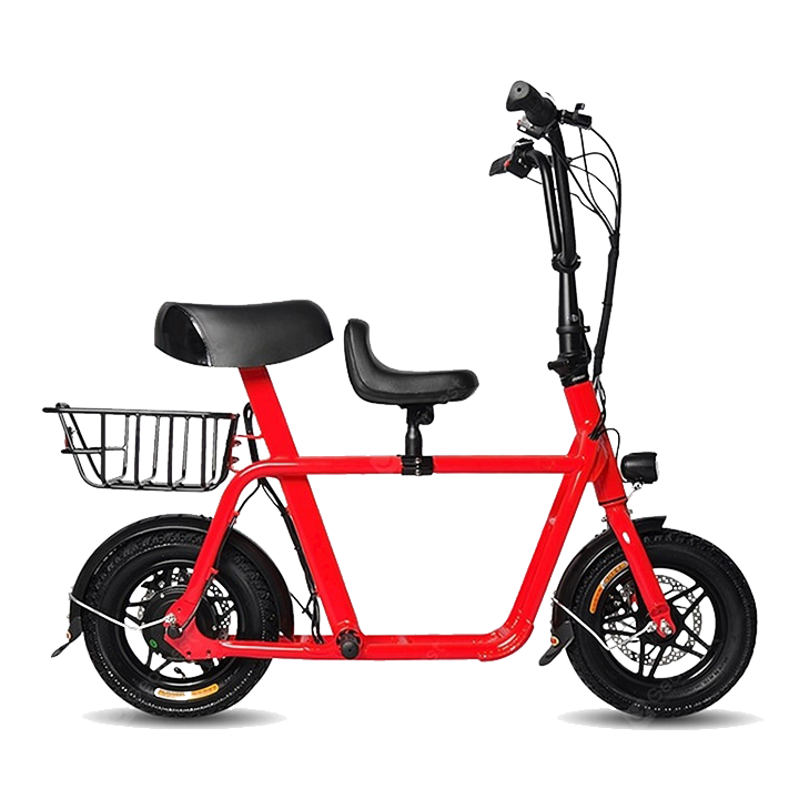 Fiido Q1 UL2272 Certified Electric Scooter with Rear Seat and VLKR Cushion Seat