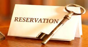 Reservation and service laws