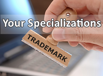 Your Specializations